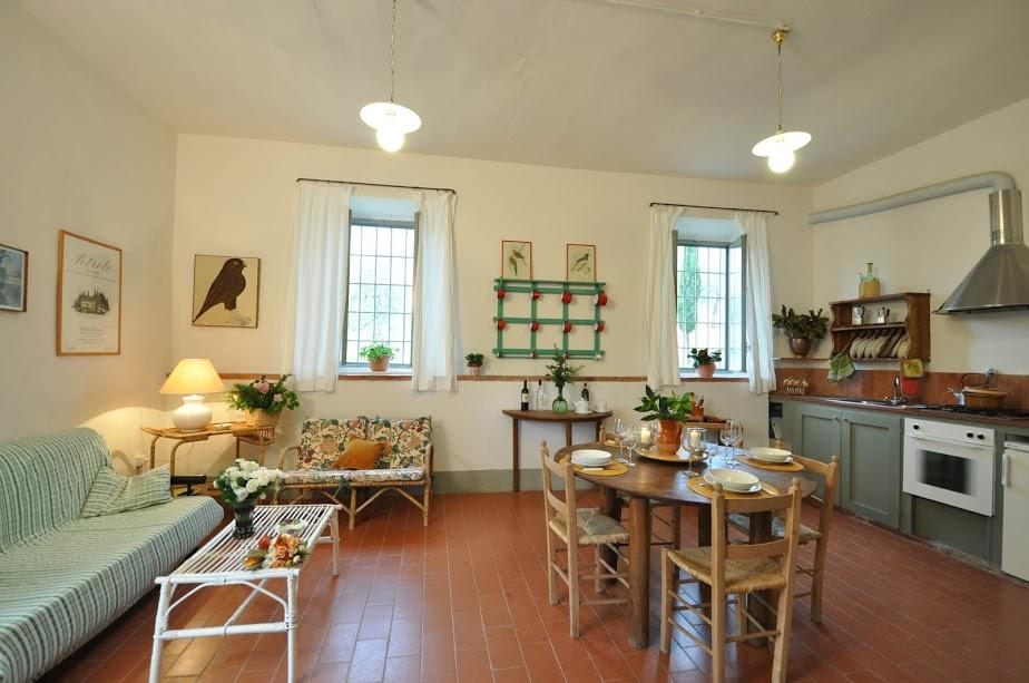 awesome Tuscany - Feriale II Petrolo luxury apartment and holiday home