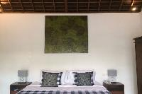 crisp and clean bedding in Bali - Villa Tjitrap luxury apartment