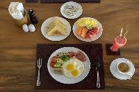 hearty meals served at Bali - Villa Tjitrap luxury apartment