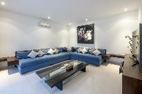 neat interiors of Bali - Villa Tjitrap luxury apartment