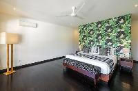 fresh and clean bedroom linens in Bali - Villa Tjitrap luxury apartment