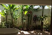 cool bathtub in the garden of Bali - Villa Tjitrap luxury apartment