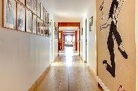 cool hallway in Brittany - Luxury Sailor House
