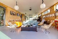 splendid living room of Brittany - Luxury Sailor House