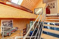 cool mezzanine of Brittany - Luxury Sailor House