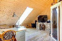 large flatscreen TV in Brittany - Luxury Sailor House