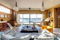 beautiful sea view from Brittany - Luxury Sailor House living room