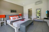 lovely bedroom of Bali Cosy Villa luxury apartment