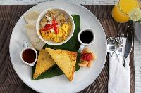 hearty meals served at Bali - Legian Villa Holliday luxury apartment