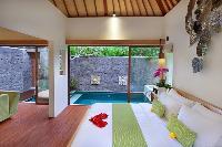 clean and fresh bedroom linens in Bali - Legian Ini Vie Villa 2BR luxury apartment