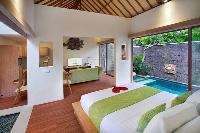 fresh and clean bedroom linens in Bali - Legian Ini Vie Villa 2BR luxury apartment