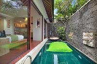 cool swimming pool of Bali - Legian Ini Vie Villa 2BR luxury apartment