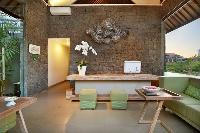 impressive lanai of Bali - Legian Ini Vie Villa 2BR luxury apartment
