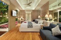 fresh and clean bedroom linens in Bali - Aleva Villa Seminyak luxury apartment
