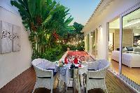 beautiful patio of Bali - Aleva Villa Seminyak luxury apartment