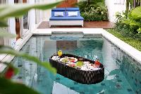 awesome swimming pool of Bali - Aleva Villa Seminyak luxury apartment