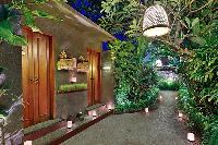 lovely and lush surroundings of Bali - Legian Kriyamaha Villa 3 luxury apartment