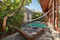 invigorating swimming pool of Bali - Legian Kriyamaha Villa 3 luxury apartment