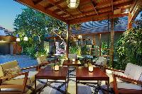 pretty pergola with fab lanai furniture at Bali - Legian Kriyamaha Villa 3 luxury apartment