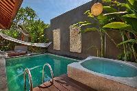 refreshing swimming pool of Bali - Legian Kriyamaha Villa 3 luxury apartment