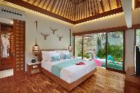 amazing interiors of Bali - Seminyak Aksari Villa luxury apartment