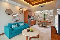 awesome cieling of Bali - Seminyak Aksari Villa luxury apartment