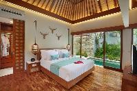 breezy and bright Bali - Seminyak Aksari Villa luxury apartment
