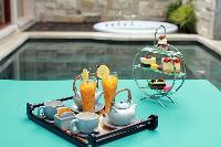 delectable meals served at Bali - Seminyak Aksari Villa luxury apartment