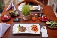 yummy meals served at Bali - Seminyak Aksari Villa luxury apartment
