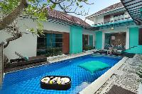 refreshing swimming pool of Bali - The Vie Villa luxury apartment