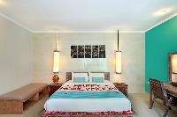 clean and crisp bedding in Bali - The Vie Villa luxury apartment