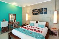 fresh and clean bedroom linens in Bali - The Vie Villa luxury apartment