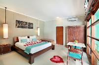 clean and fresh bedroom linens in Bali - The Vie Villa luxury apartment
