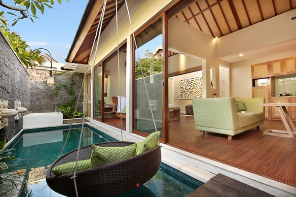 fabulous Bali - Legian Ini Vie Villa 1BR luxury apartment and holiday home