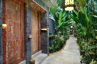 lovely and lush surroundings of Bali - Legian Ini Vie Villa 1BR luxury apartment