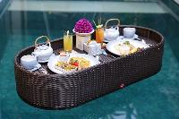 delectable dishes served in Bali - Legian Ini Vie Villa 1BR luxury apartment