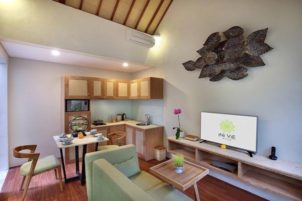 incredible interiors of Bali - Legian Ini Vie Villa 1BR luxury apartment