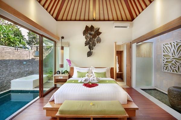 impressive interiors of Bali - Legian Ini Vie Villa 1BR luxury apartment