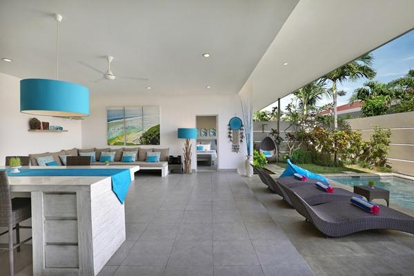 amazing Bali Cosy Villa Blue luxury apartment and holiday home