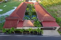fantastic aerial view of Bali Cosy Villa Lime luxury apartment