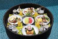 amazing dishes served at Bali Cosy Villa Lime luxury apartment