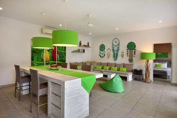spacious Bali Cosy Villa Lime luxury apartment