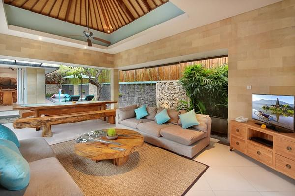 amazing interiors of Bali - Lacasa Villa 3BR luxury apartment