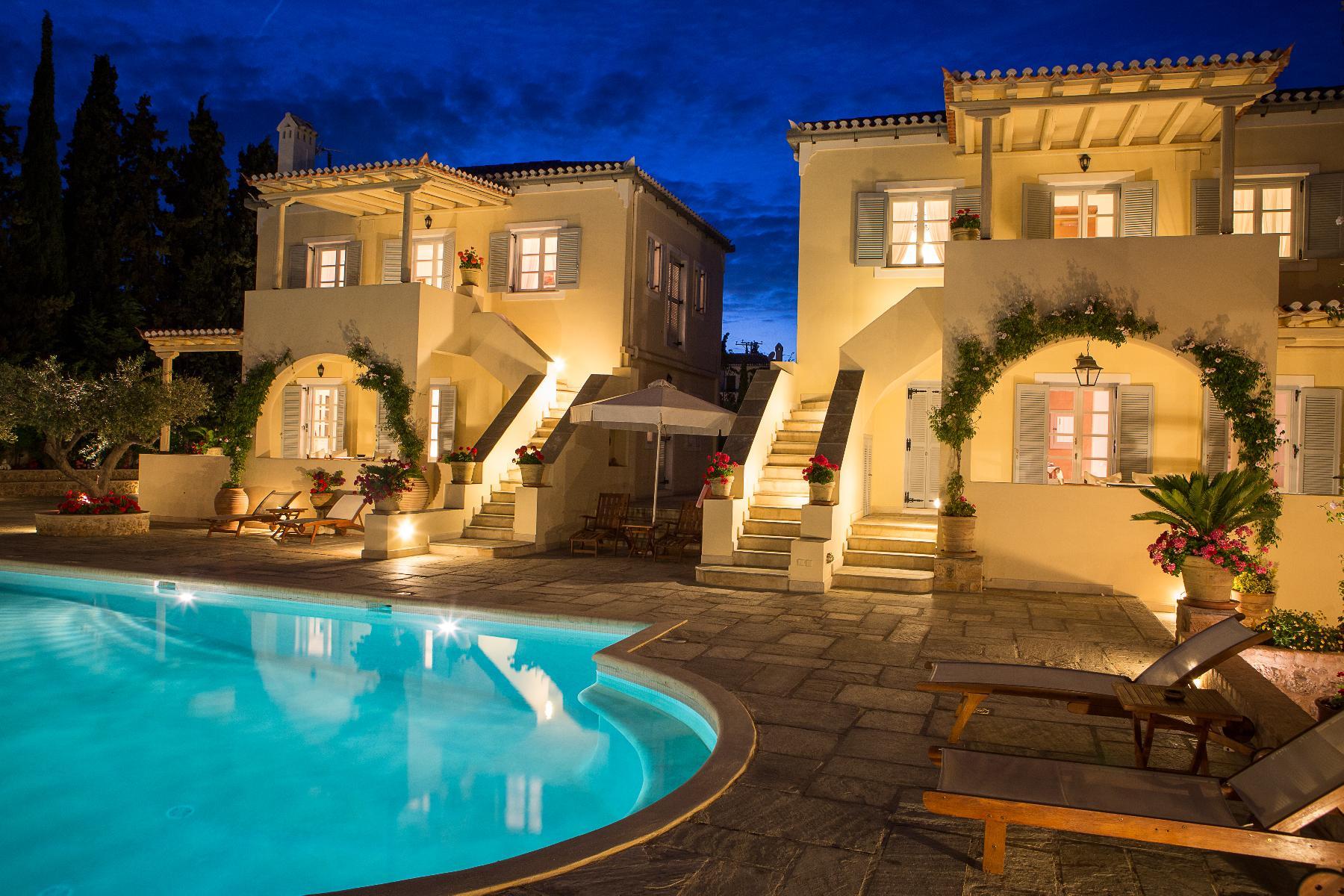 magical Greece Spetses Villa Nika luxury holiday home, vacation rental