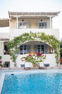 amazing pool of Greece Spetses Villa Nika luxury holiday home, vacation rental