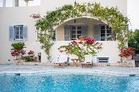 awesome pool of Greece Spetses Villa Nika luxury holiday home, vacation rental