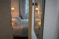 clean bed sheets in Greece Spetses Villa Nika luxury holiday home, vacation rental