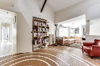 bright and neatly stocked 4-bedroom Paris luxury apartment