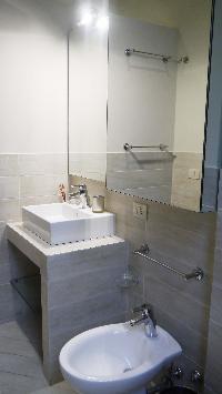cool bathroom of Milano - Deluxe Three Bedrooms luxury apartment