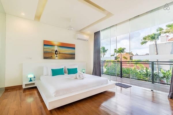 bright and breezy Bali - Aquila Villa Seminyak luxury apartment